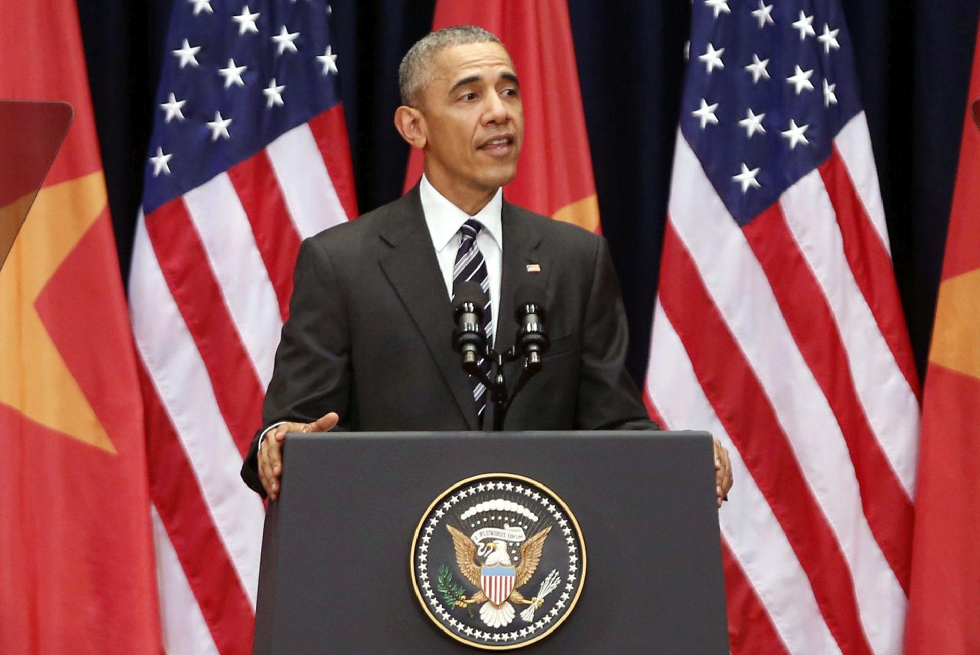 """""""UNIVERZALNE VRIJEDNOSTI"""": Obama u Vijetnamu branio slobodu govora"""