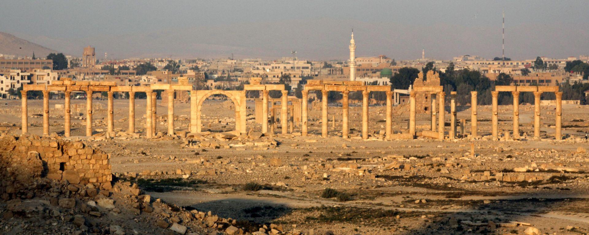 NAKON DEVET MJESECI Militanti Islamske države ponovno ušli u Palmiru