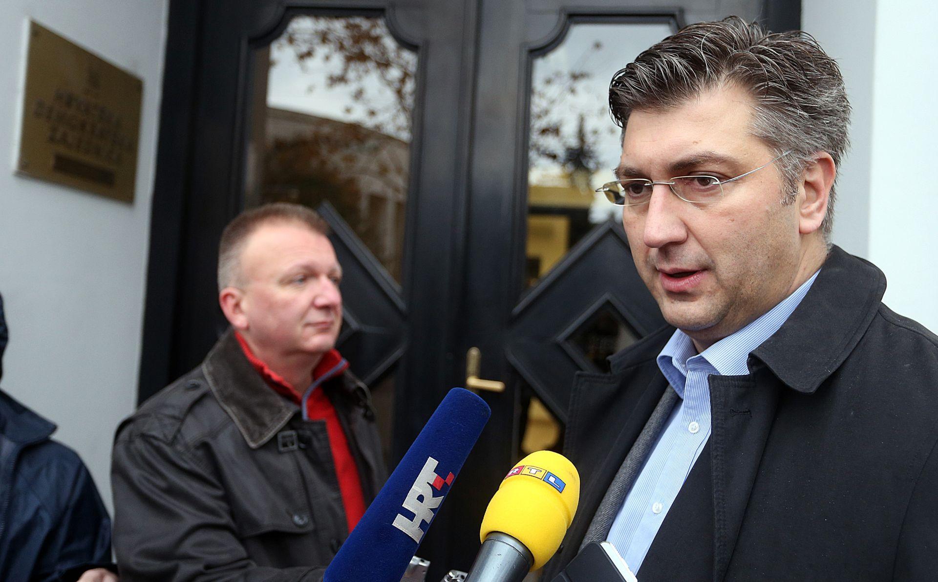 Plenković: Stranka ne može biti talac političke sudbine bilo kojeg svog člana