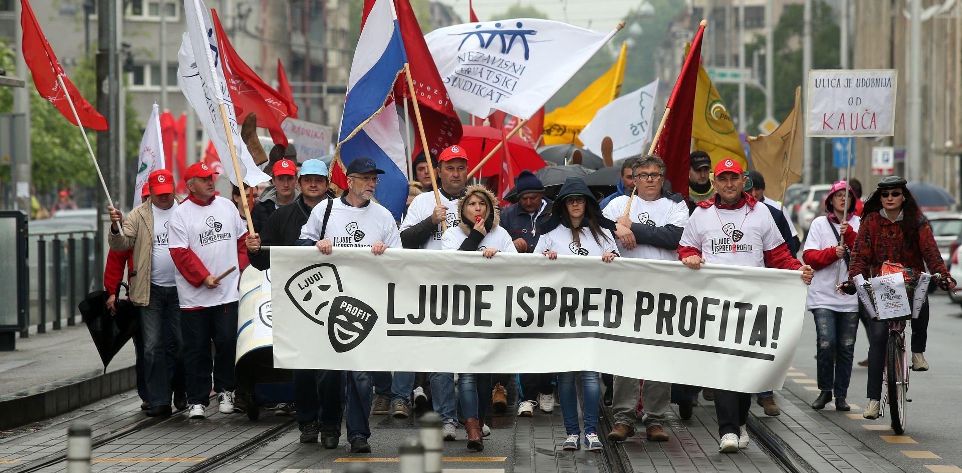 VIDEO: Sindikati i studentske udruge organizirali demonstracije u svijetskim metropolama