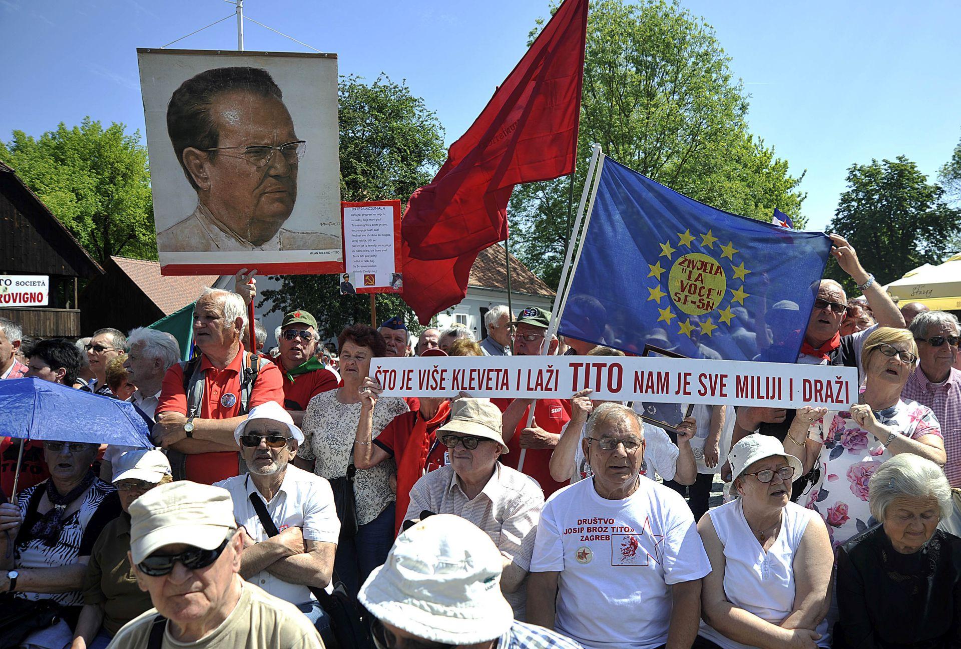Oko 2.000 ljudi iz obilježilo 38. obljetnicu smrti Josipa Broza Tita
