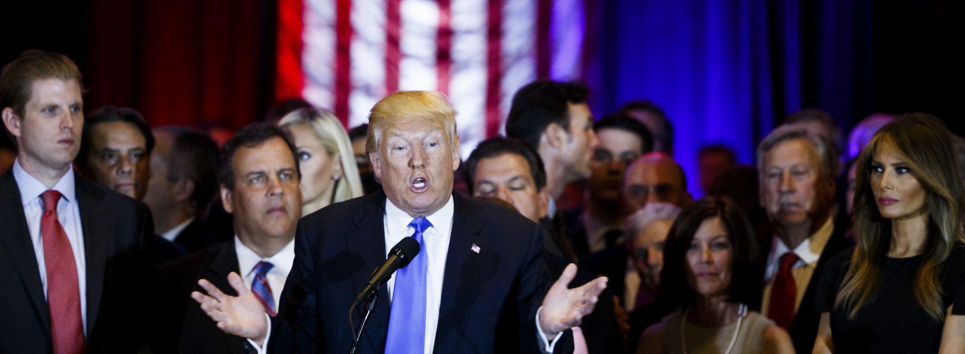 PREDIZBORI: Donald Trump pobijedio u Washingtonu