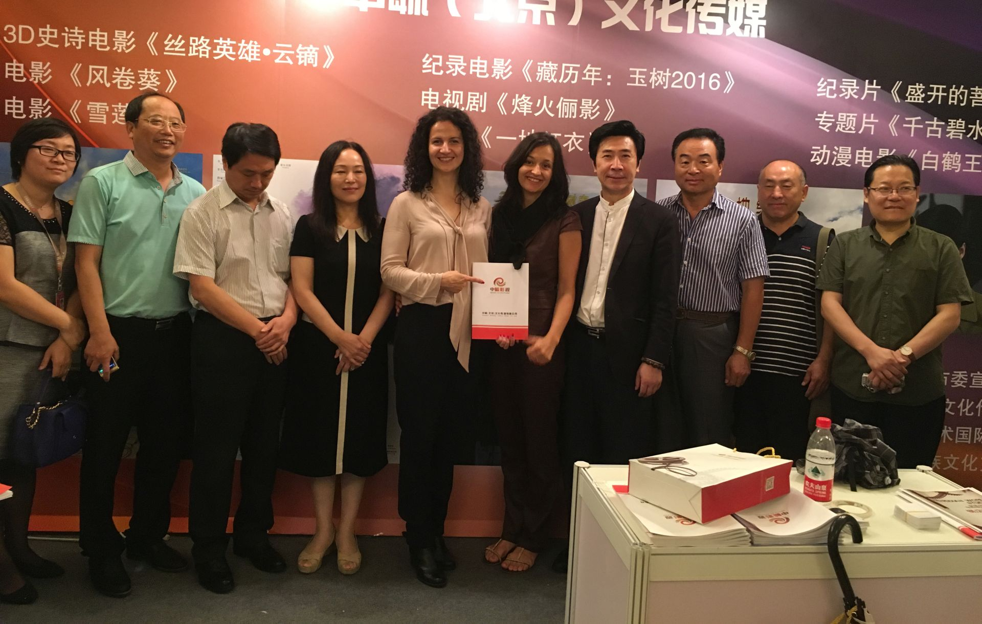 Anita Juka i Svetlana Dramlic s kineskim producentima