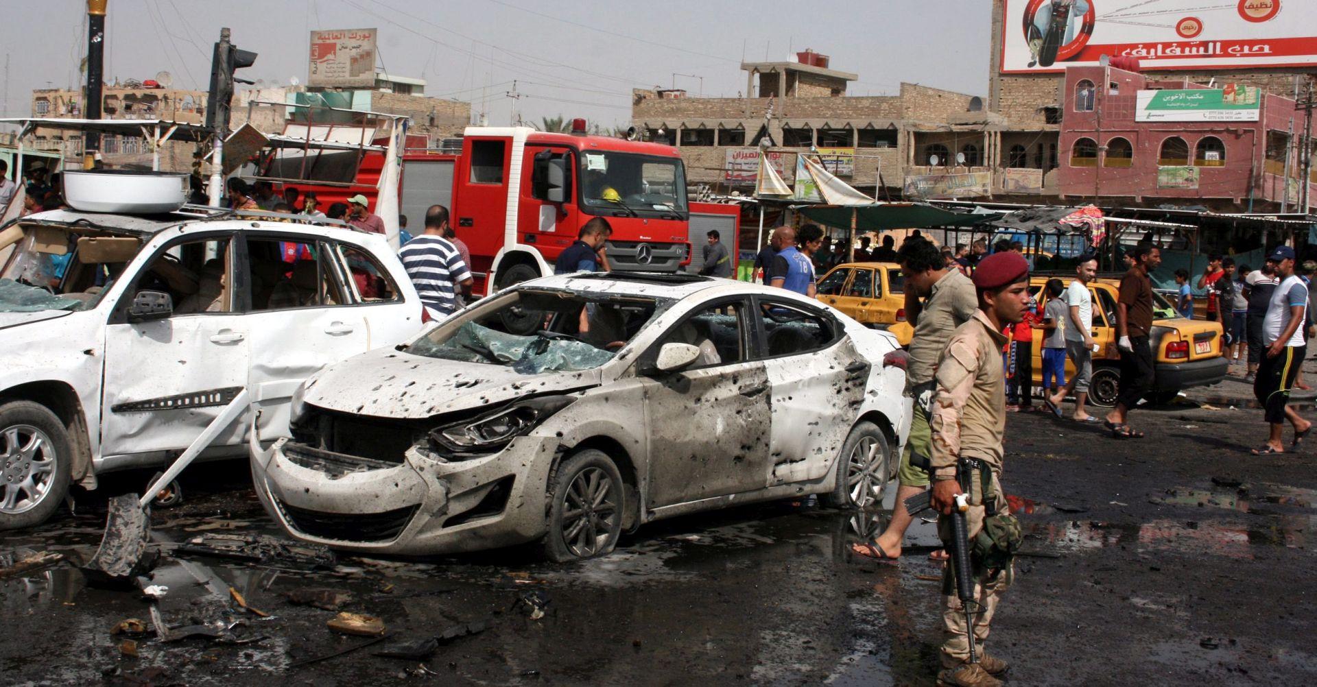 TERORISTIČKI NAPADI U BAGDADU Najmanje 22 ljudi poginulo, više od 70 ozlijeđenih