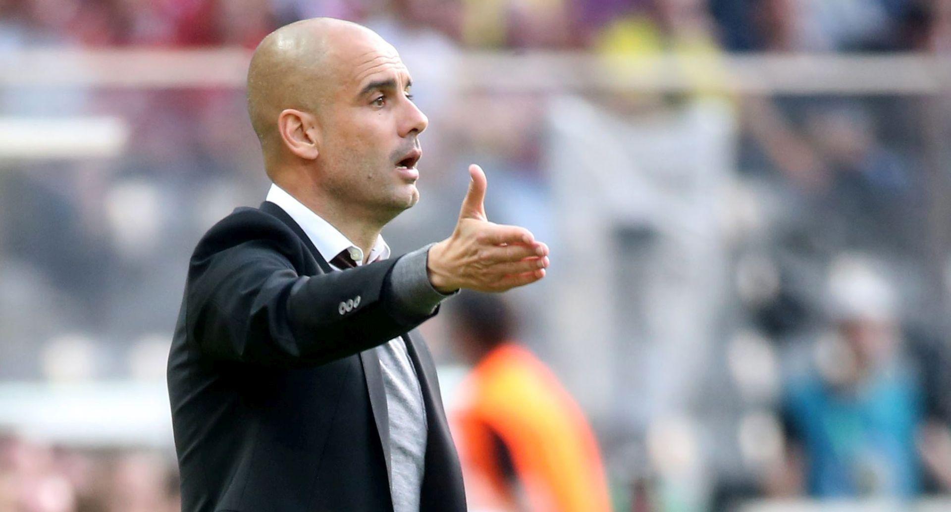 PEP GUARDIOLA Prva utakmica na klupi Cityja protiv – Bayerna