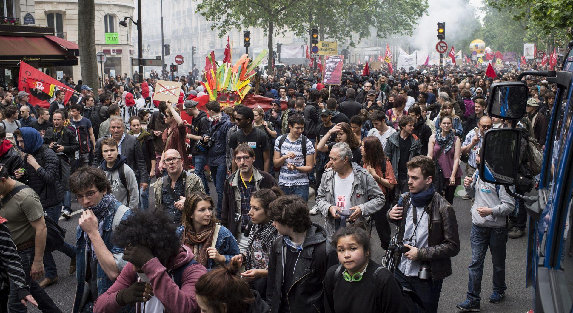 Nastavlja se socijalna kriza u Francuskoj