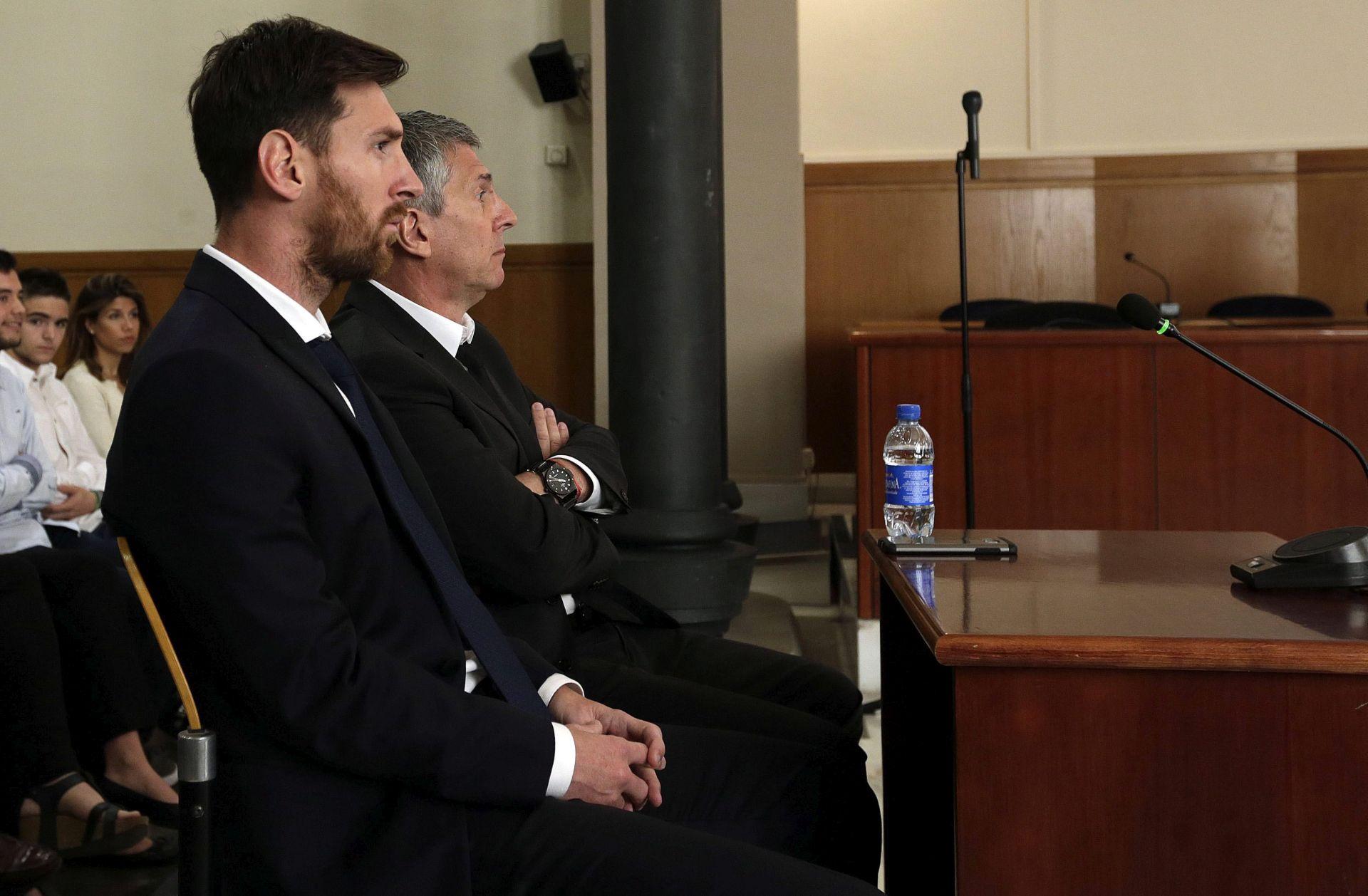 """SUĐENJE ZA UTAJU POREZA Messi: """"Igrao sam nogomet, nisam znao ništa o financijama"""""""