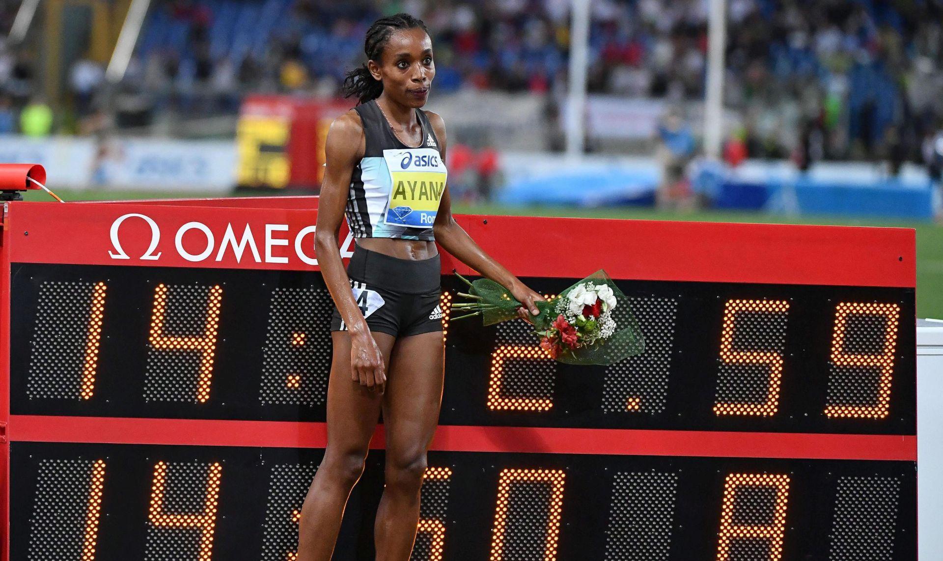 DIJAMANTNA LIGA Ayana istrčala drugi rezultat svih vremena na 5km