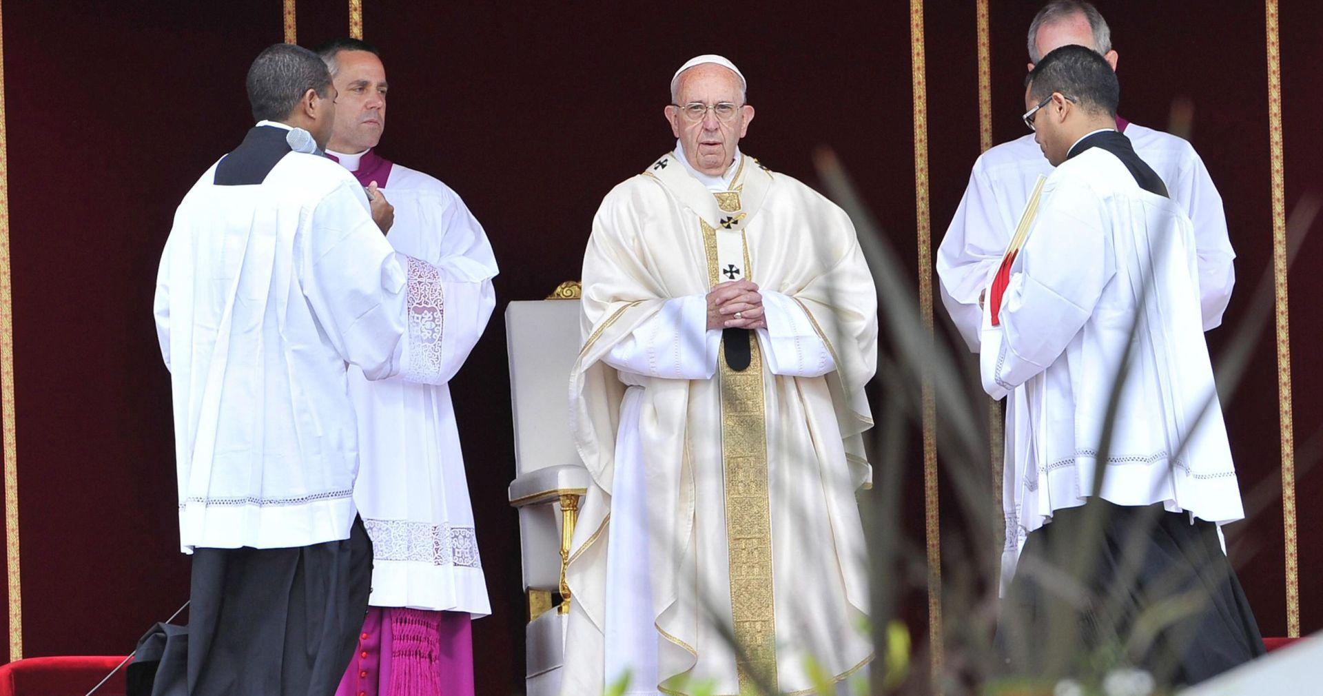 Papa kanonizirao dvoje utemeljitelja katoličkih redova
