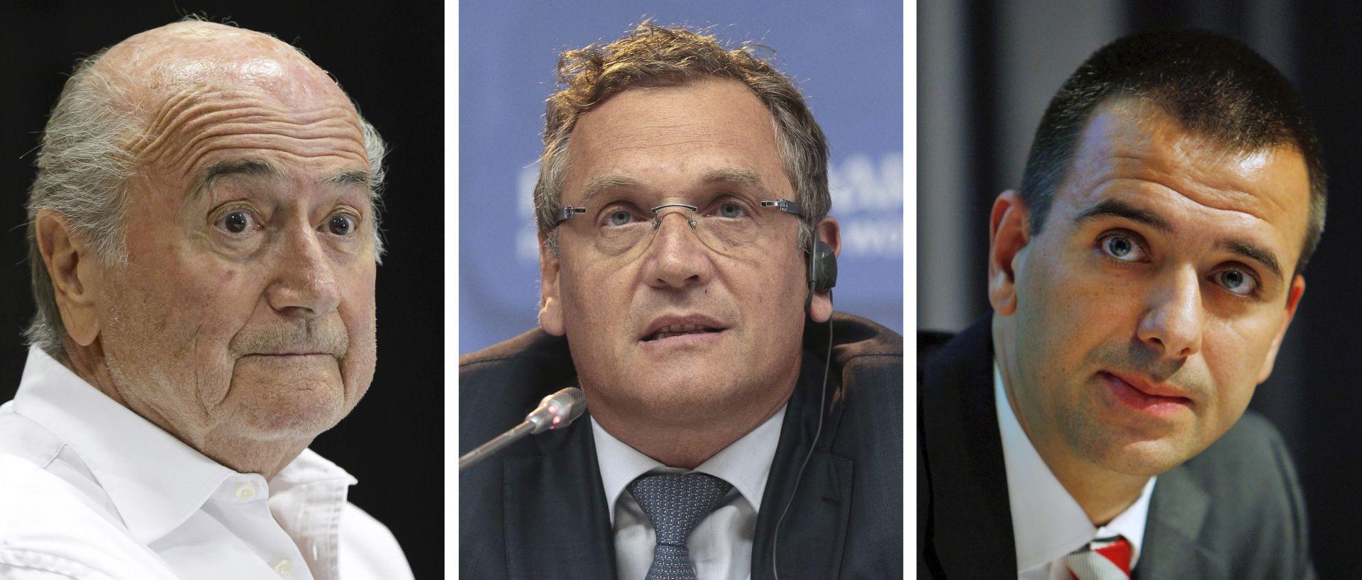 Blatter, Valcke i Kattner se 'nagradili' sa 80 milijuna dolara tijekom pet godina