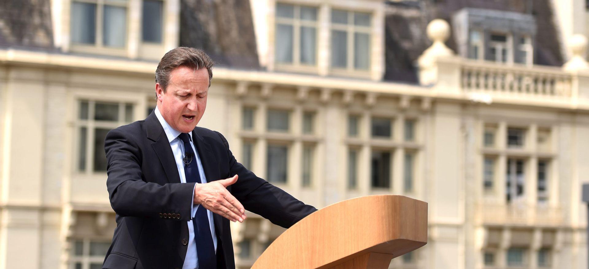 """DAVID CAMERON 'Britanci su suočeni s """"egzistencijalnim izborom""""'"""
