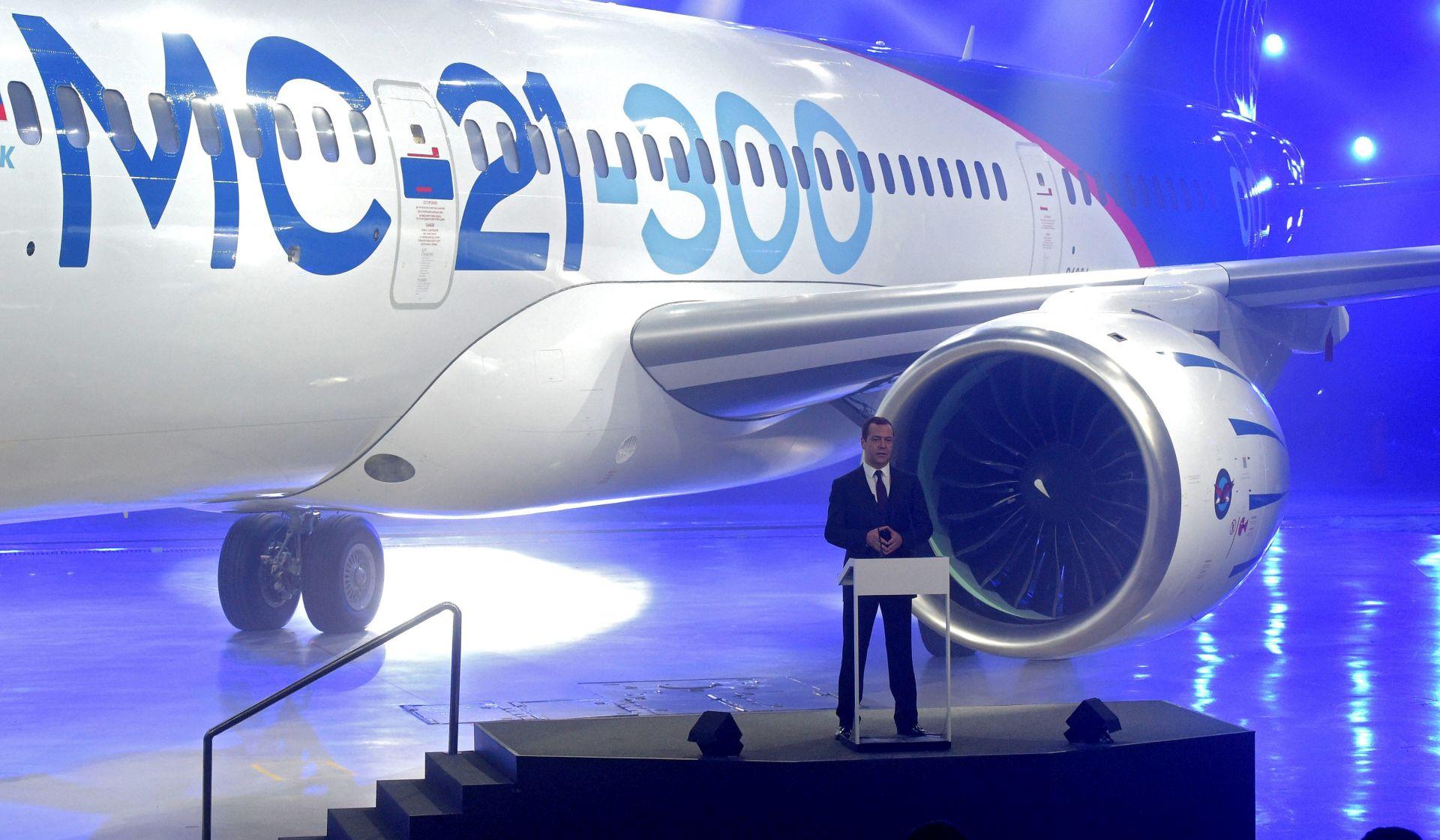 MS-21 Novi ruski zrakoplov konkurentan Boeingu i Airbusu