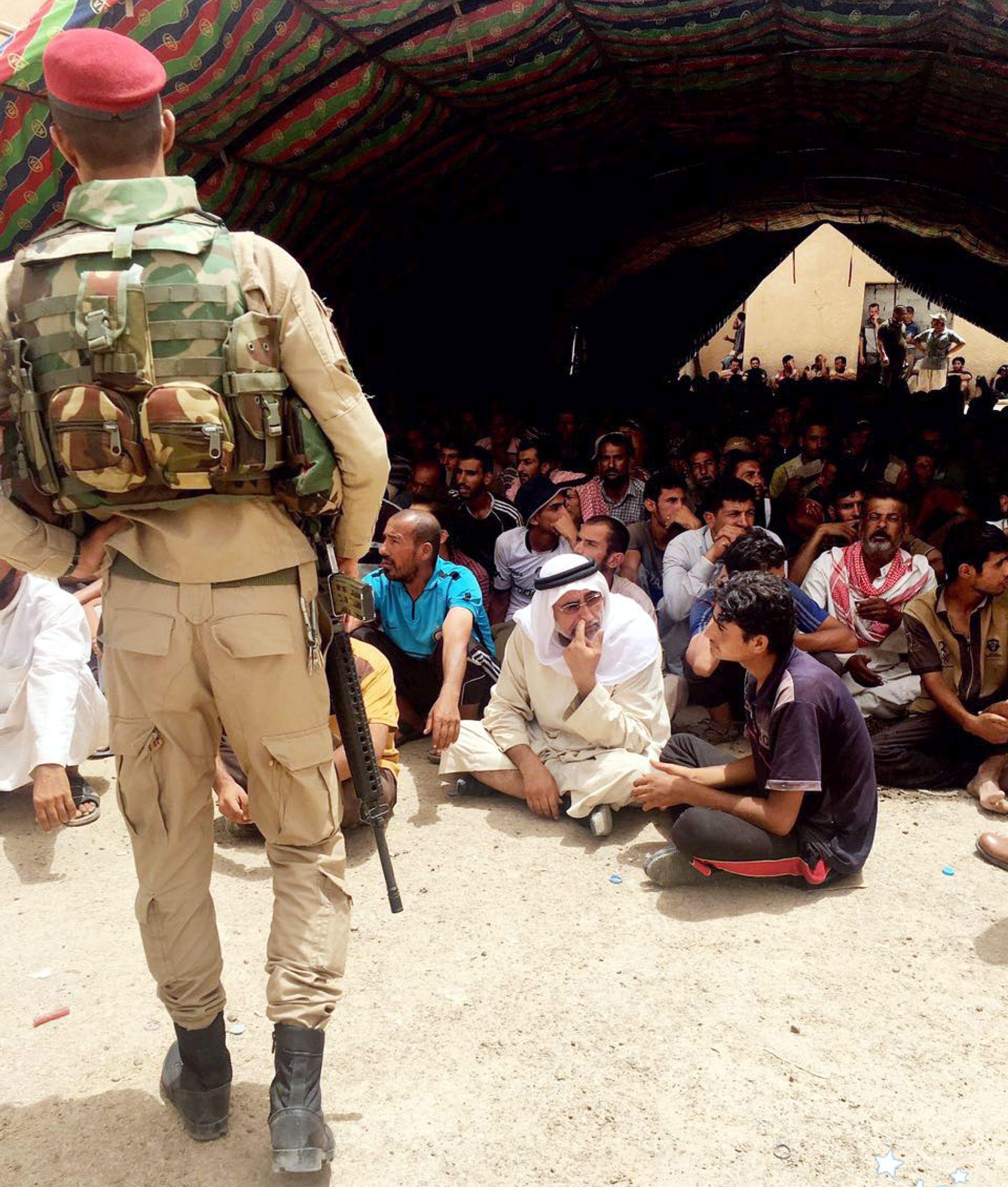 Ljudi masovno bježe iz Falluje, zabranjen im ulazak u Bagdad