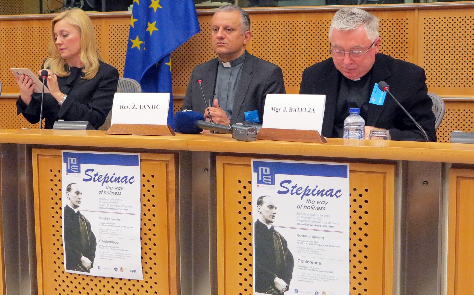 Prosvjed Srbije europskim dužnosnicima zbog izložbe o Stepincu u EP-u
