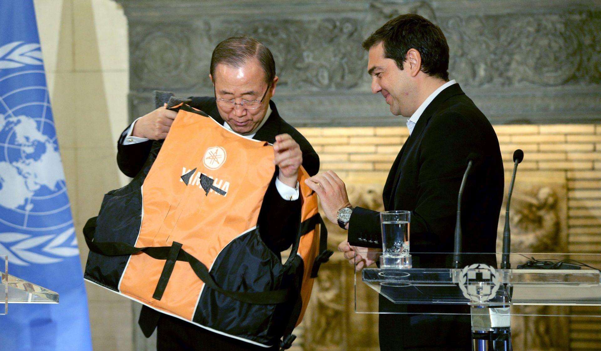 Ban Ki-moon poziva da se pomogne Grčkoj u migrantskoj krizi