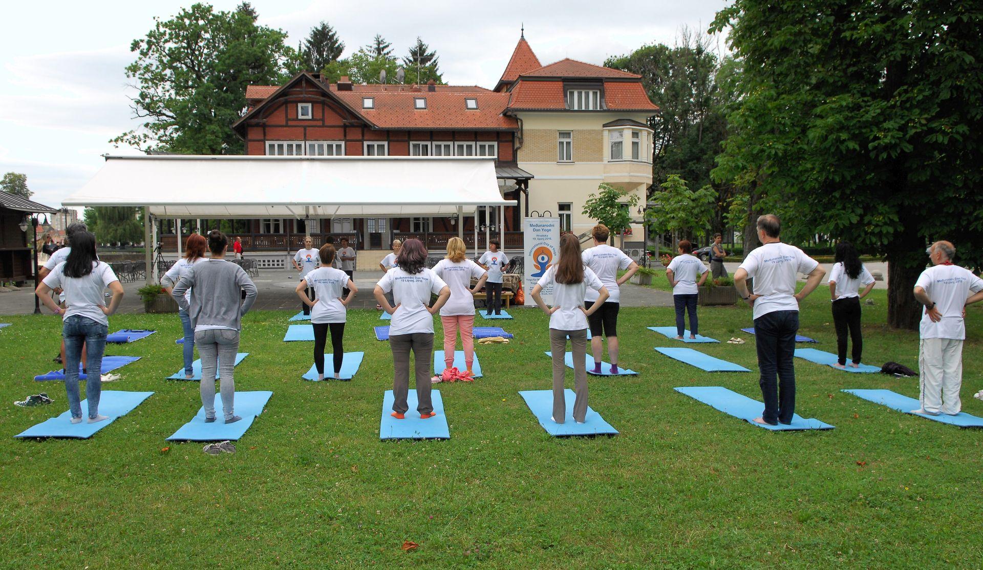 Međunarodni dan joge obilježen i u Karlovcu