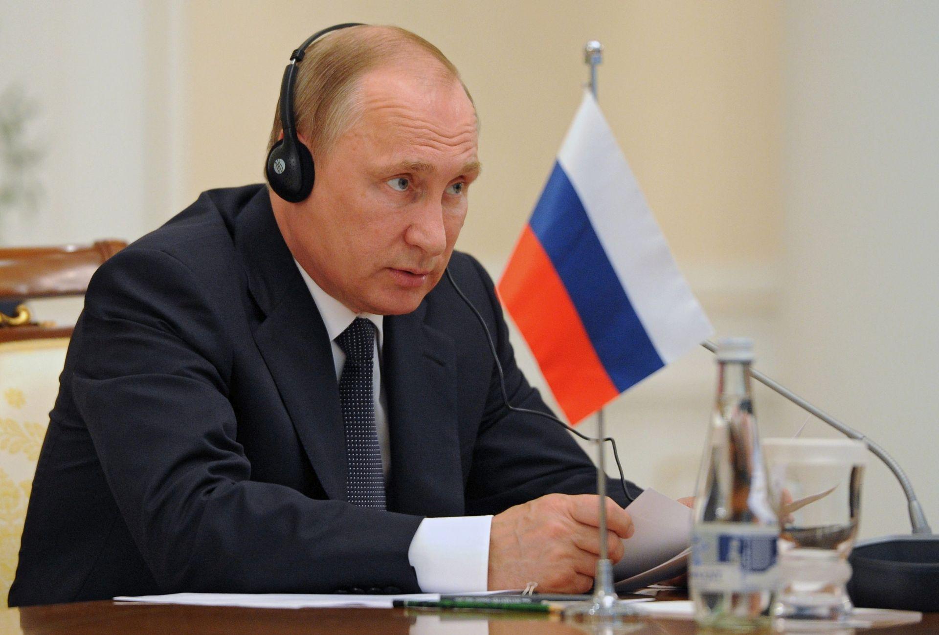 """VLADIMIR PUTIN """"Rusija nije utjecala na Brexit"""""""