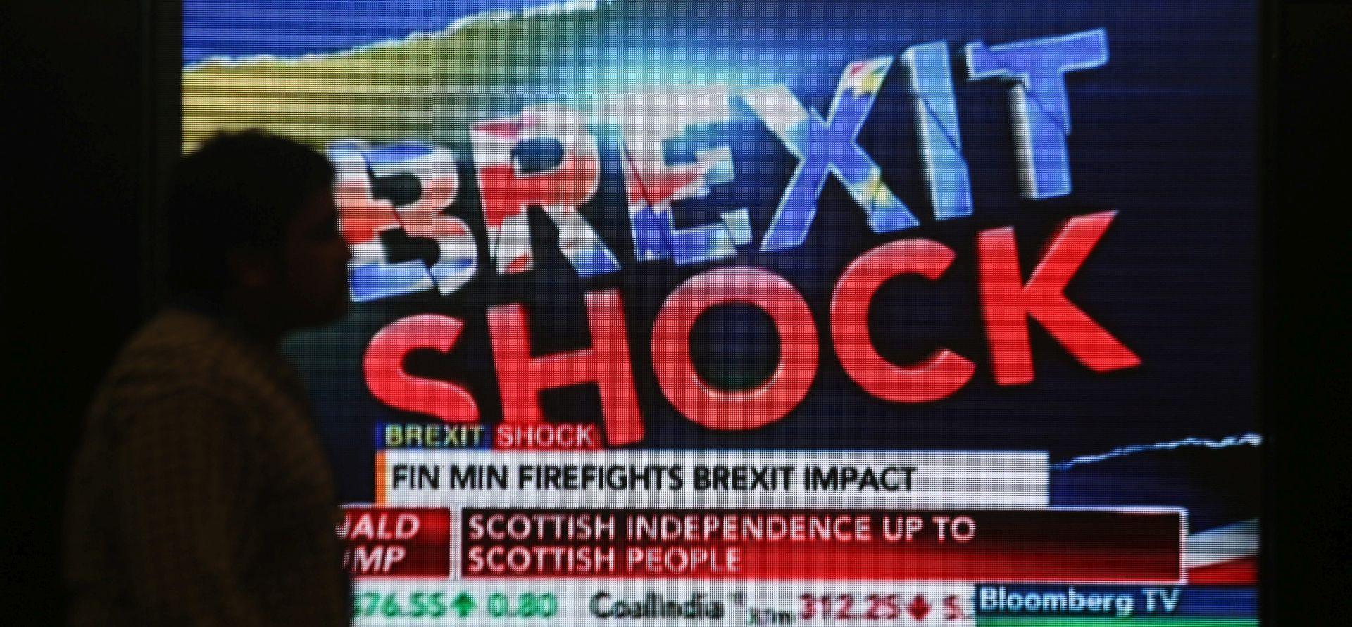 Svjetske burze oštro pale, 'Brexit' uhvatio ulagače na krivoj nozi