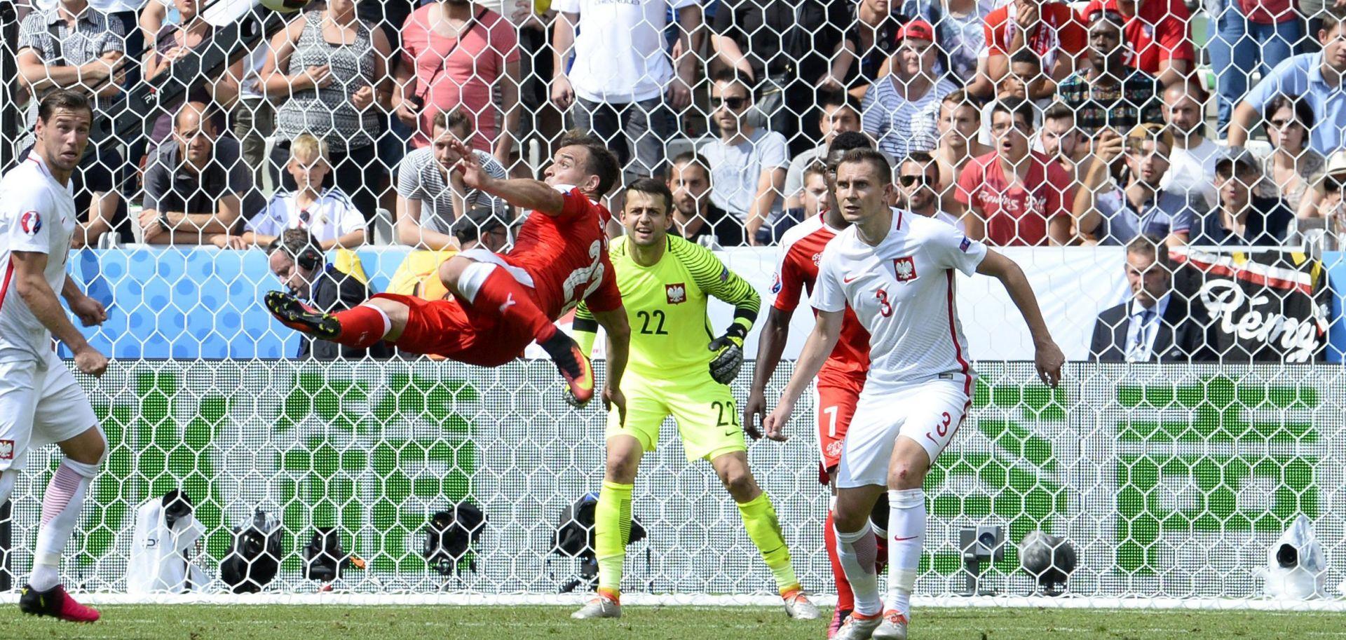 VIDEO: SPEKTAKULARNE ŠKARICE SHAQIRIJA Ovo je najljepši pogodak EURO-a
