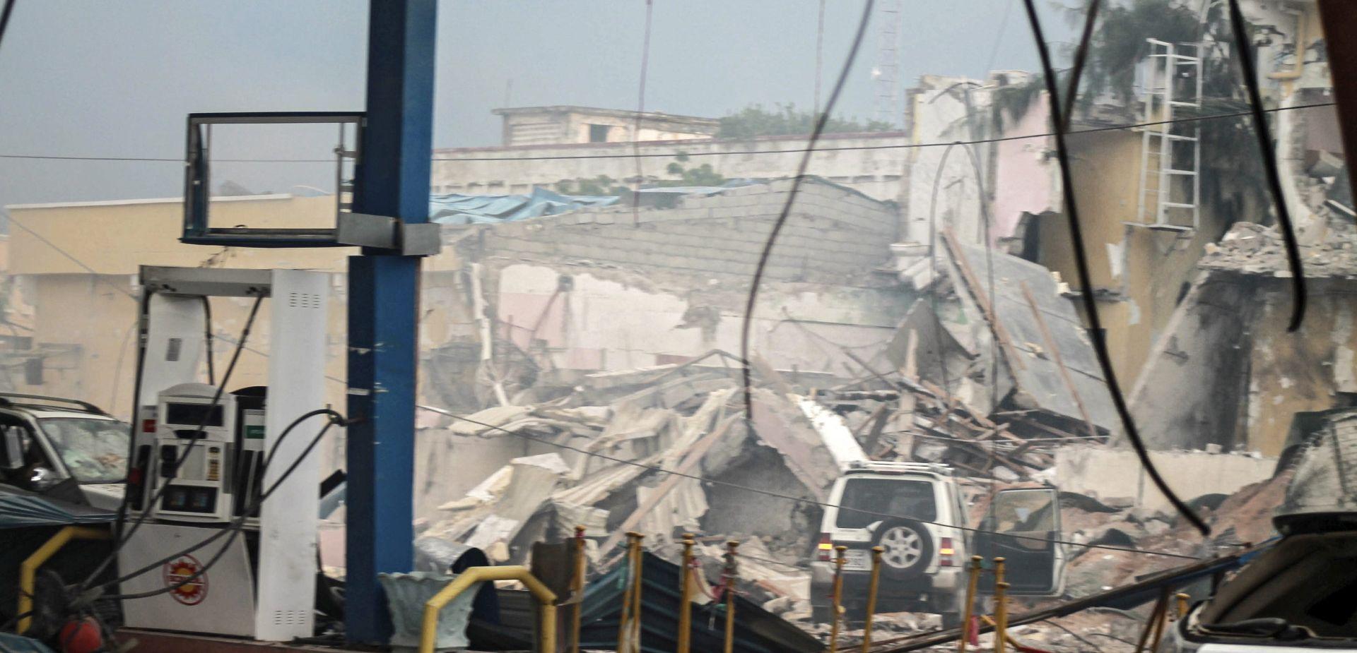 Sedam mrtvih u napadu militanata na hotel u Mogadišu