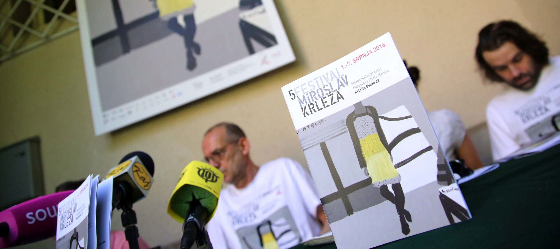 Peti festival Miroslav Krleža održava se od 1. do 7. srpnja