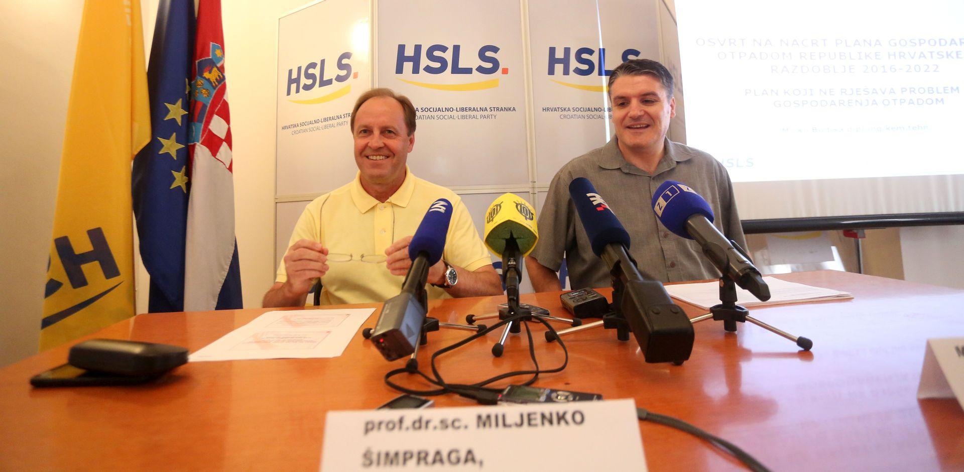 HSLS: Nacrt Plana gospodarenja otpadom treba značajno doraditi ili izraditi novi
