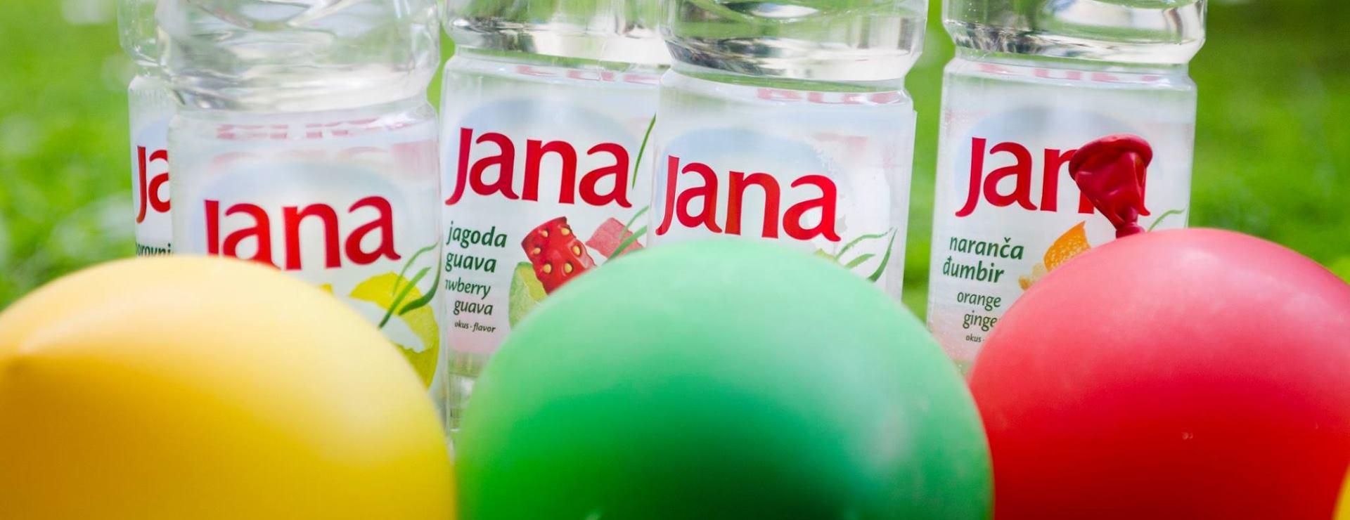 VIDEO: JANA VODA S OKUSOM Prijavite se na Water Balloon Challenge i dođite na Jarun u subotu 4. lipnja