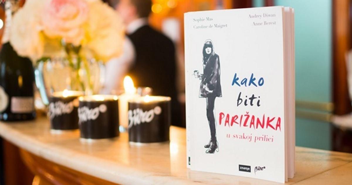 FOTO: Predstavljen svjetski bestseller 'Kako biti Parižanka u svakoj prilici'