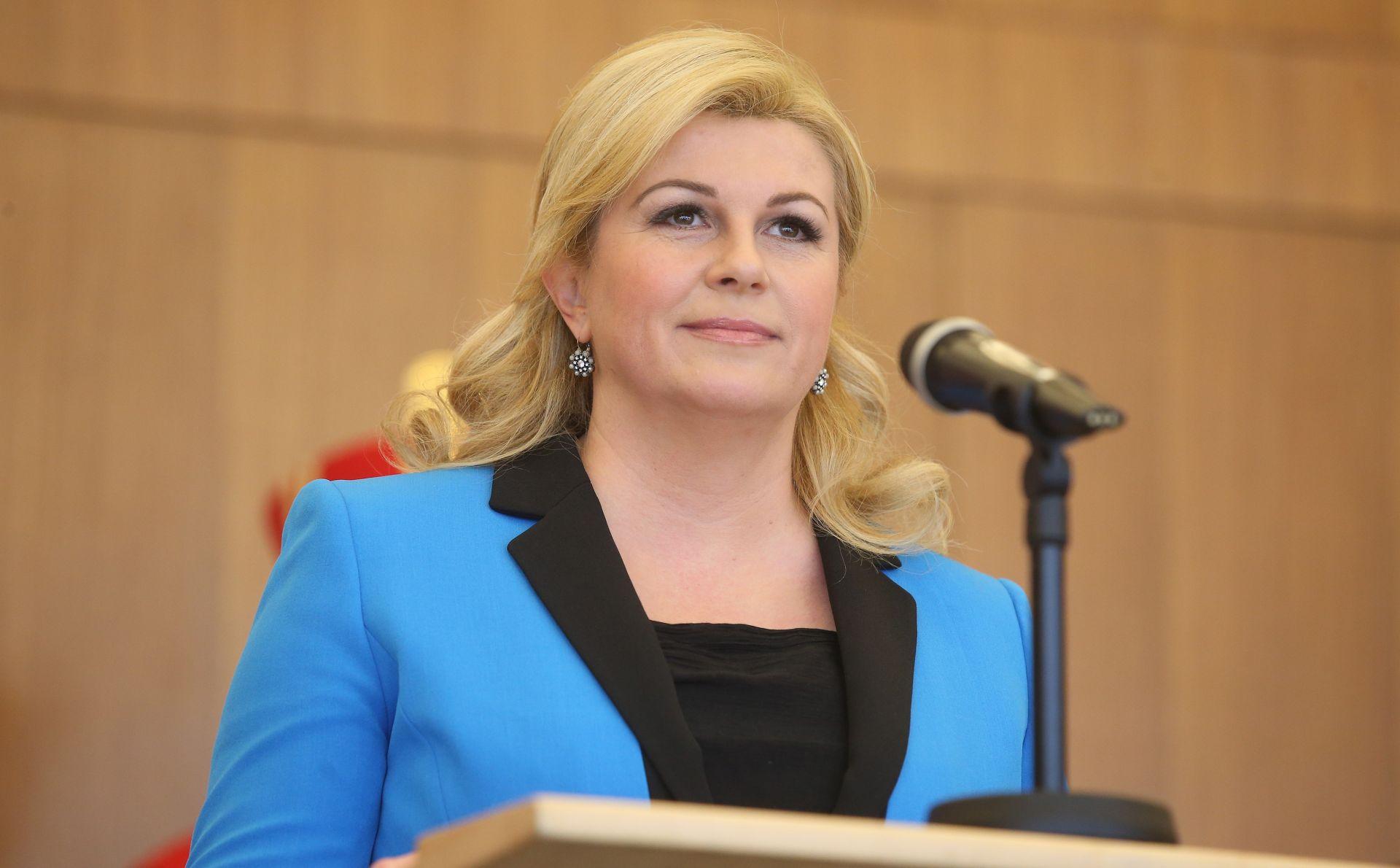 Ured predsjednice: Stanje sigurnosti je redovito
