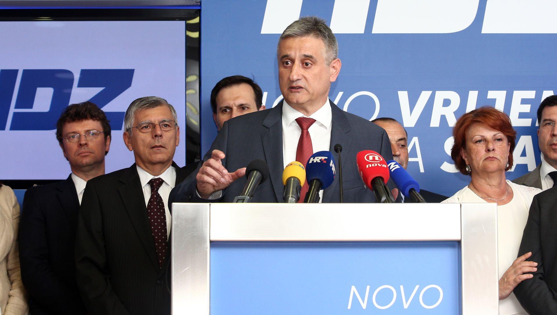 """KARAMARKO """"Orešković je napravio salto mortale, više ne uživa naše povjerenje"""""""