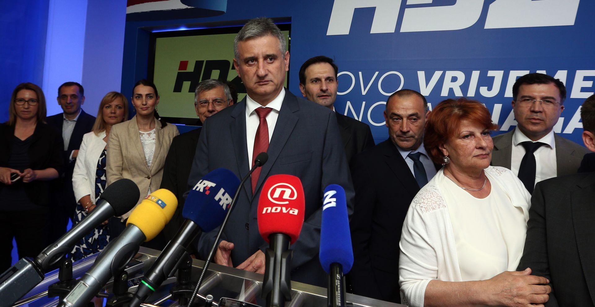 'DONIJET ĆE SE NEKE ODLUKE' U 11 sati počinje sjednica Predsjedništva HDZ-a