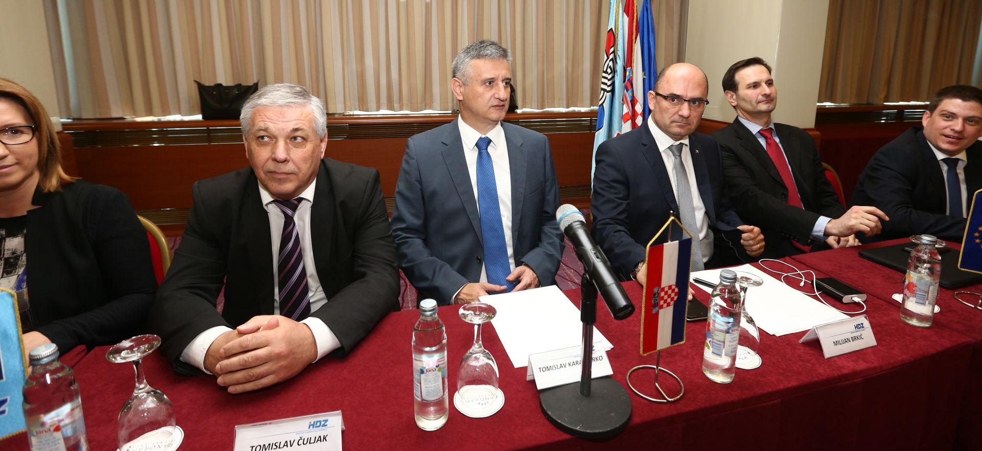 Predsjedništvo HDZ-a završilo, zasjeda Središnji odbor