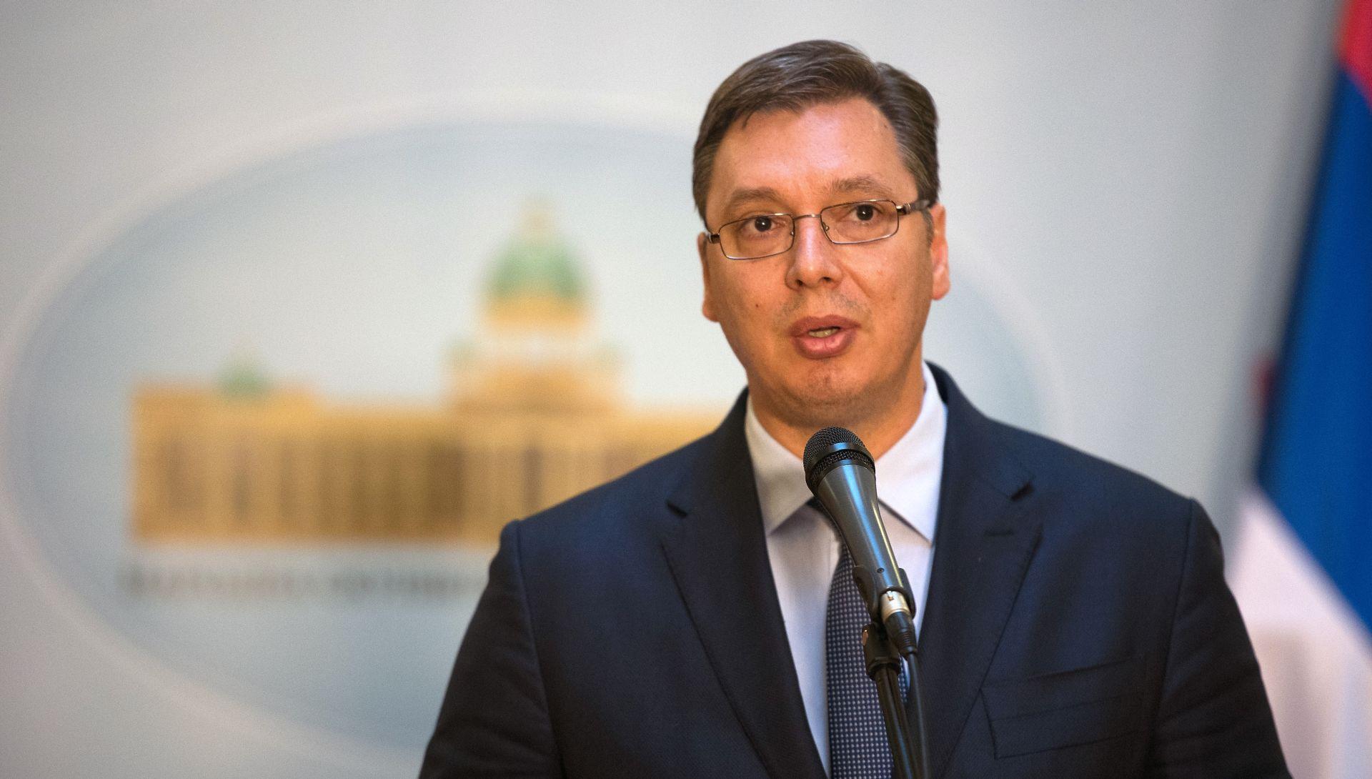 SRBIJANSKI MEDIJI Vučić otkazao posjet Bruxellesu i razgovore s dužnosnicma SAD-a