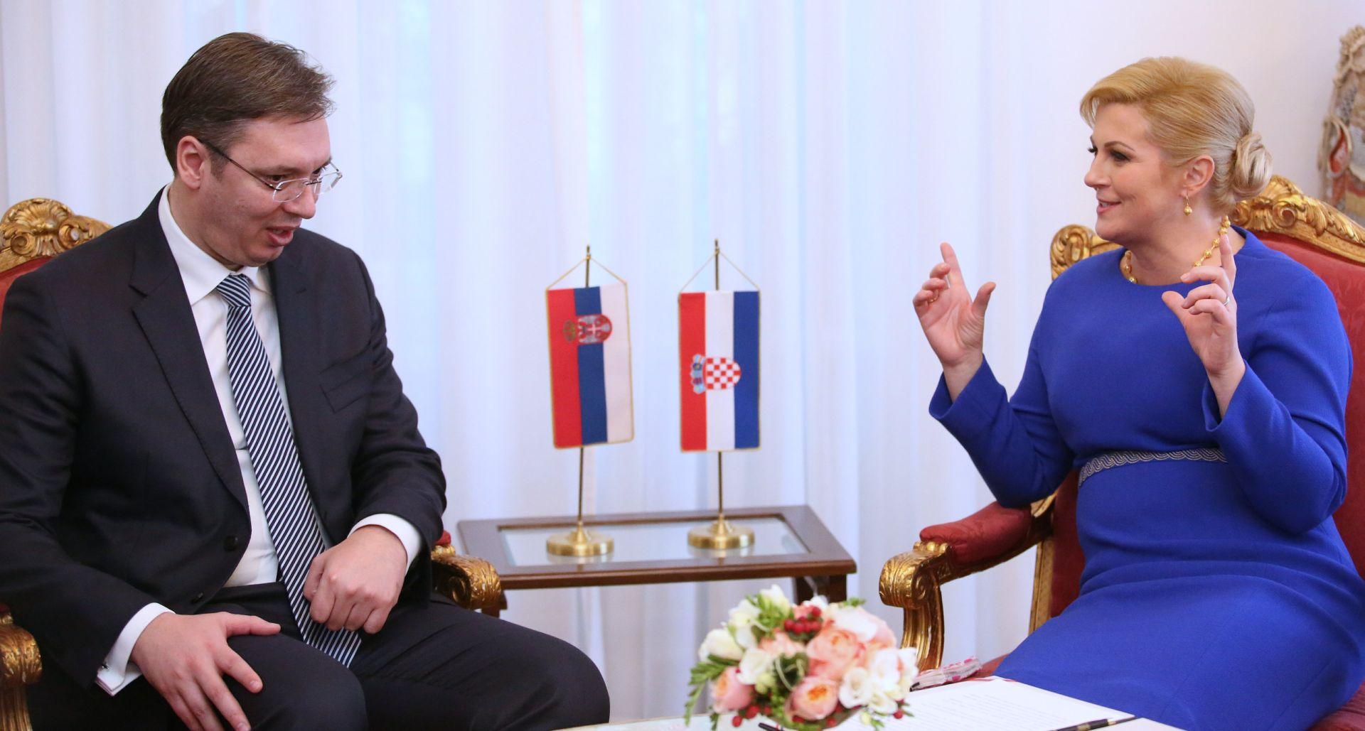 Velika očekivanja vojvođanskih Hrvata od susreta Grabar-Kitarović i Vučića