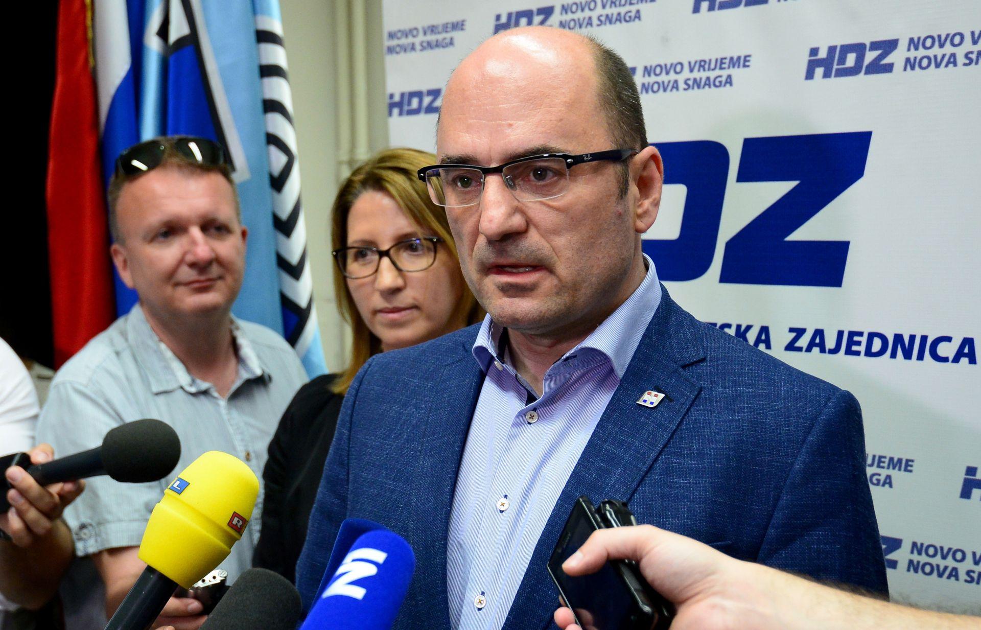 Brkić: Osim Plenkovića potpise prikupljaju još neki kandidati za predsjednika HDZ-a
