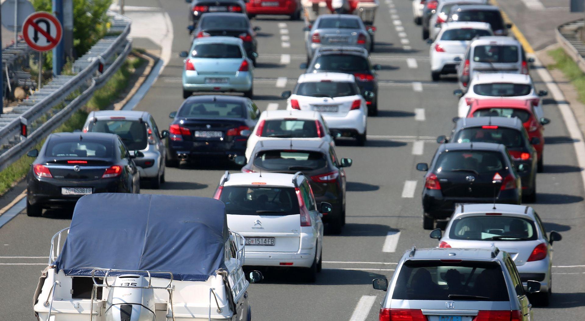 HAK Promet bez većih ograničenja, tijekom dana pojačan promet prema moru