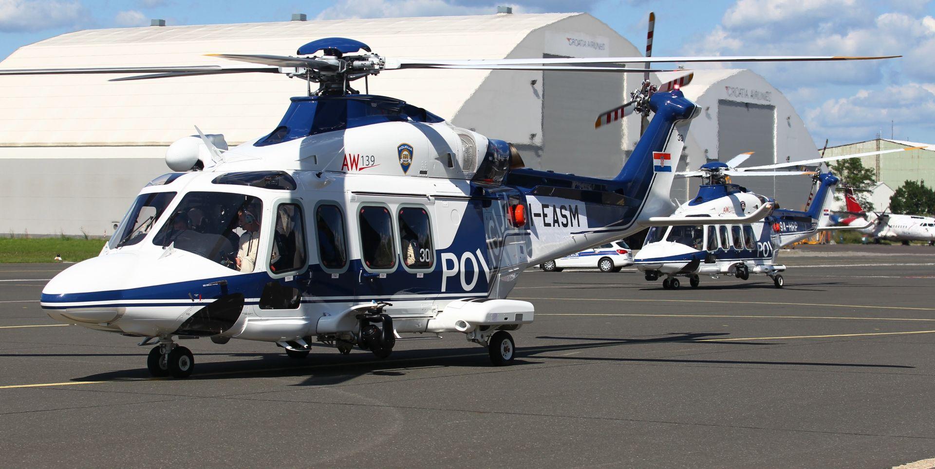 MUP RH dobio još jedan helikopter za nadzor hrvatske granice