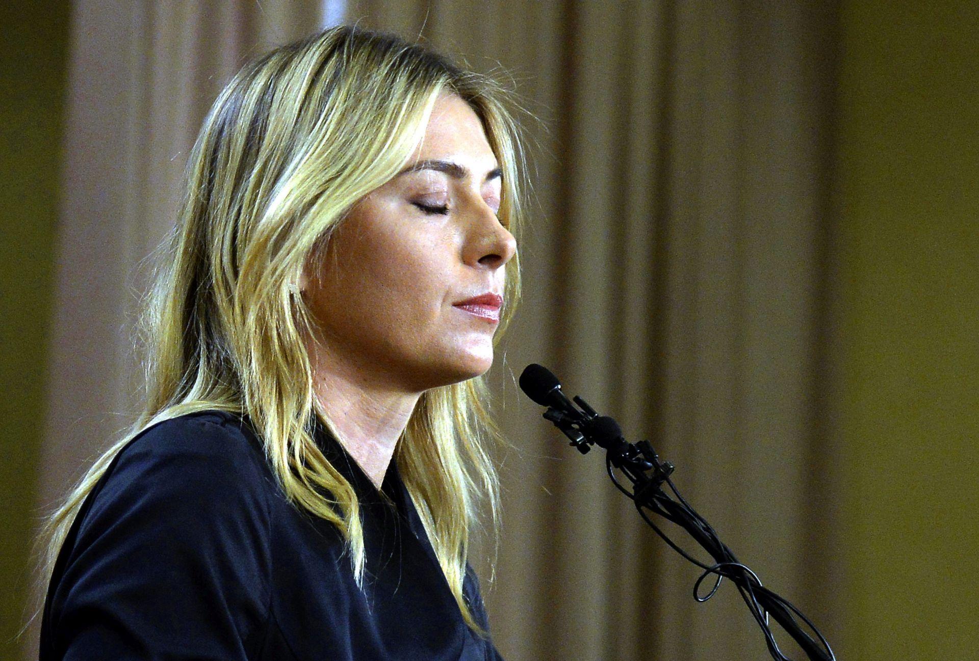 SPORTSKI ARBITRAŽNI SUD Odluka o žalbi Šarapove u listopadu