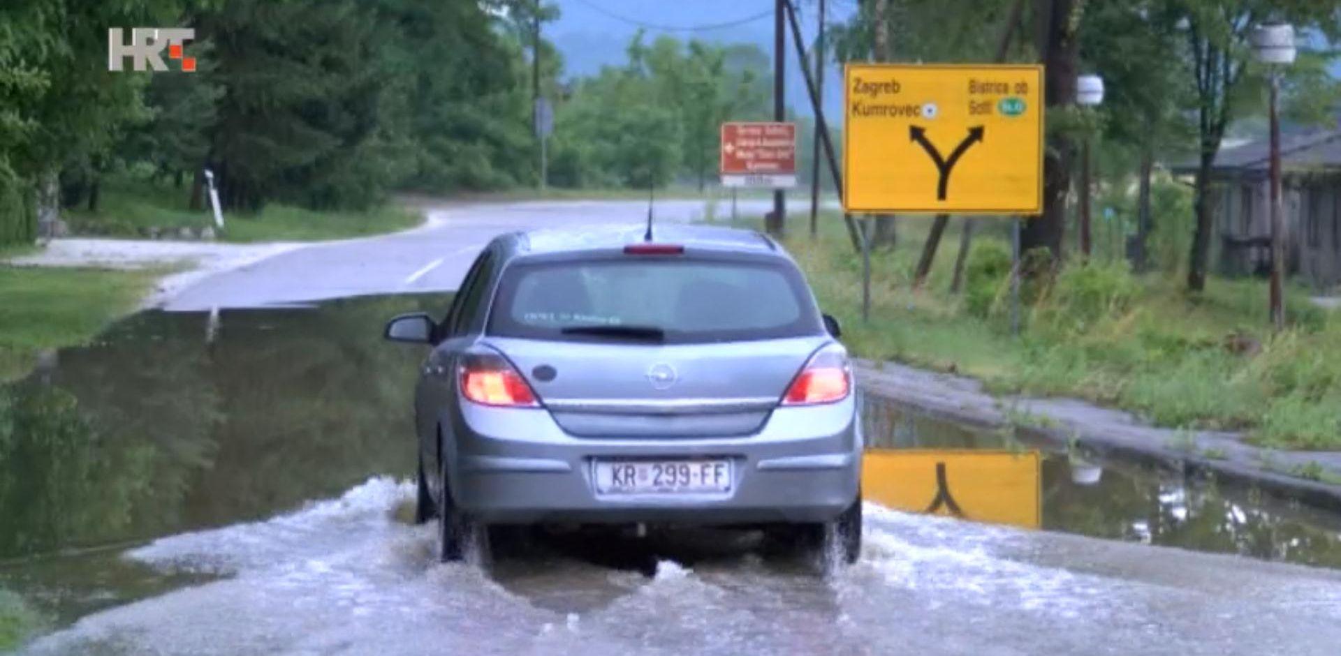 OLUJNO NEVRIJEME U samo pola sata poplavljeno tridesetak kuća u Kumrovcu