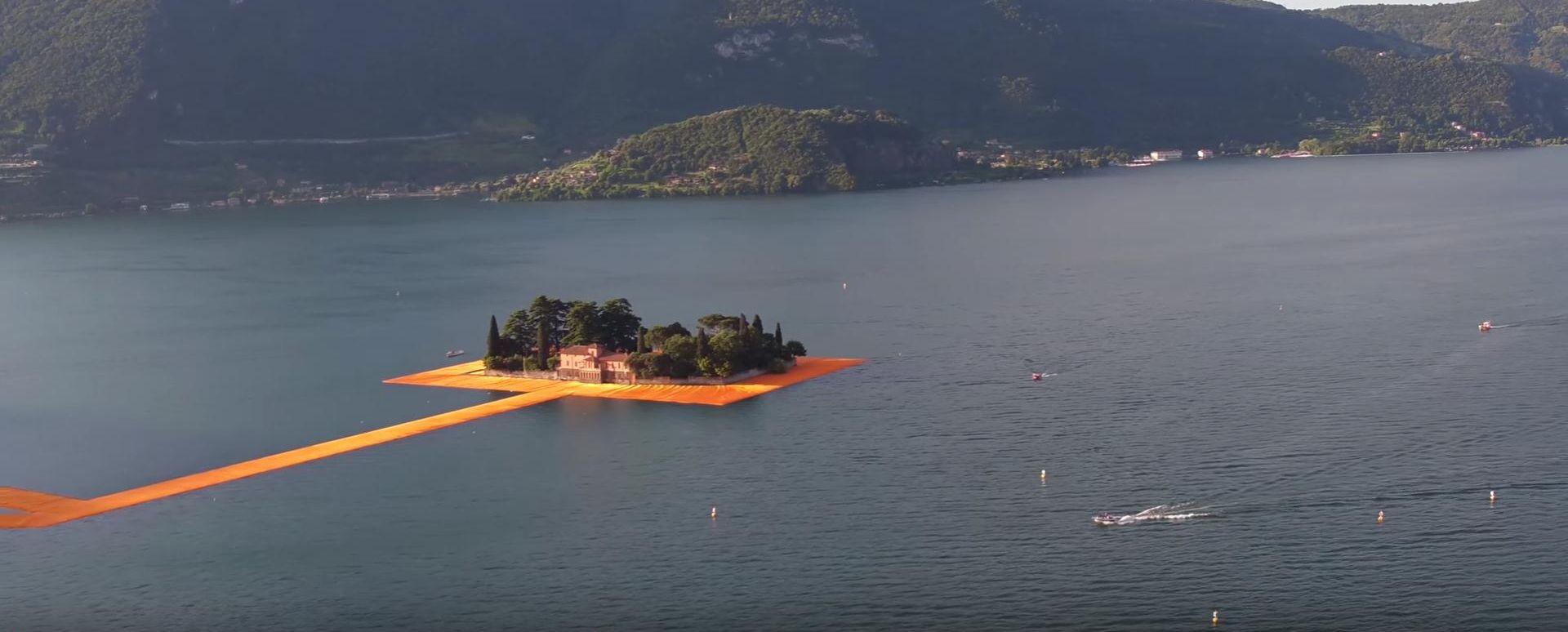 VIDEO: 'FLOATING PIERS' Zahvaljujući umjetniku Christi sada možete hodati po vodi