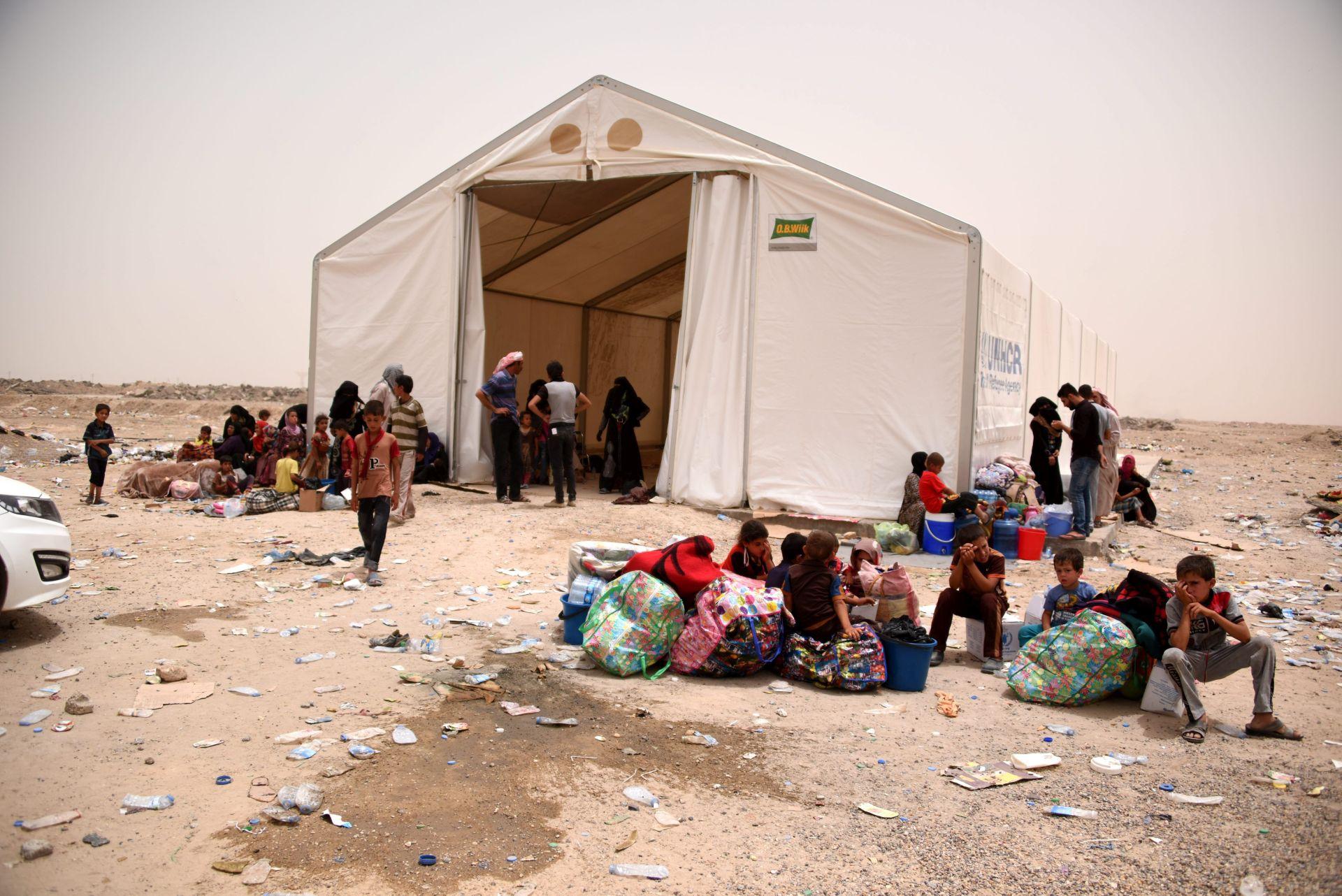 UN: Još 2,3 milijuna ljudi u Iraku moglo bi biti u bijegu zbog Islamske države
