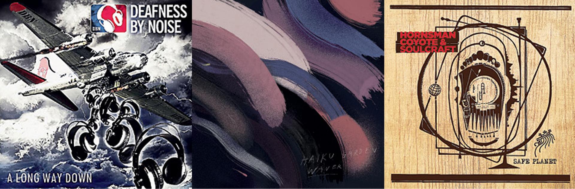 GLAZBENE RECENZIJE Deafness by Noise, Haiku Garden, Hornsman Coyote & Soulcraft