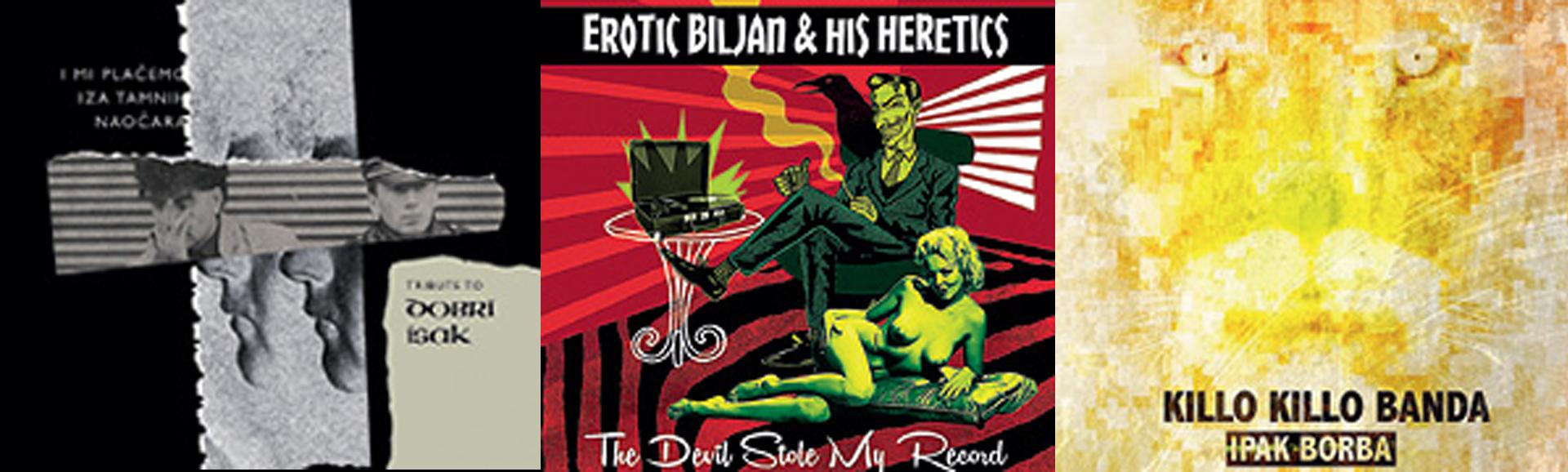 GLAZBENE RECENZIJE Tribute to Dobri Isak, Erotic Biljan and his Heretics, Killo Killo Banda