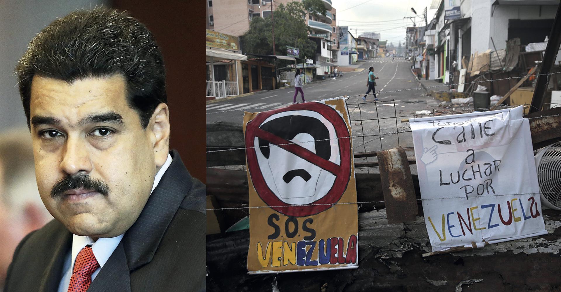 Opstanak predsjednika važniji od spašavanja gladnih stanovnika Venezuele