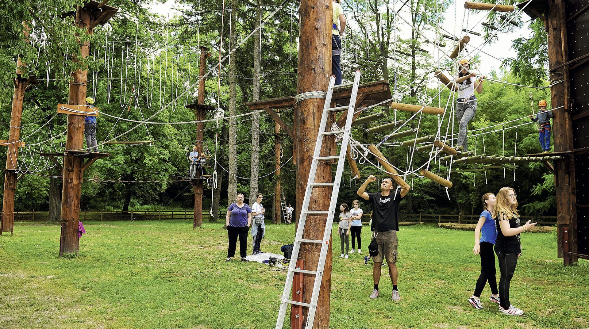 Kako je nastao jedinstveni adrenalinski park u Kopačkom ritu