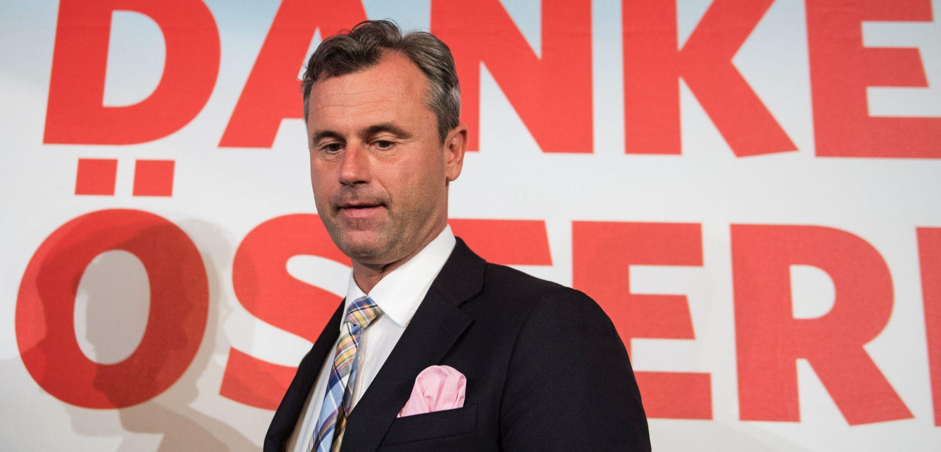 NAKON TIJESNE POBJEDE: Austrijski desničari žale se na rezultat izbora