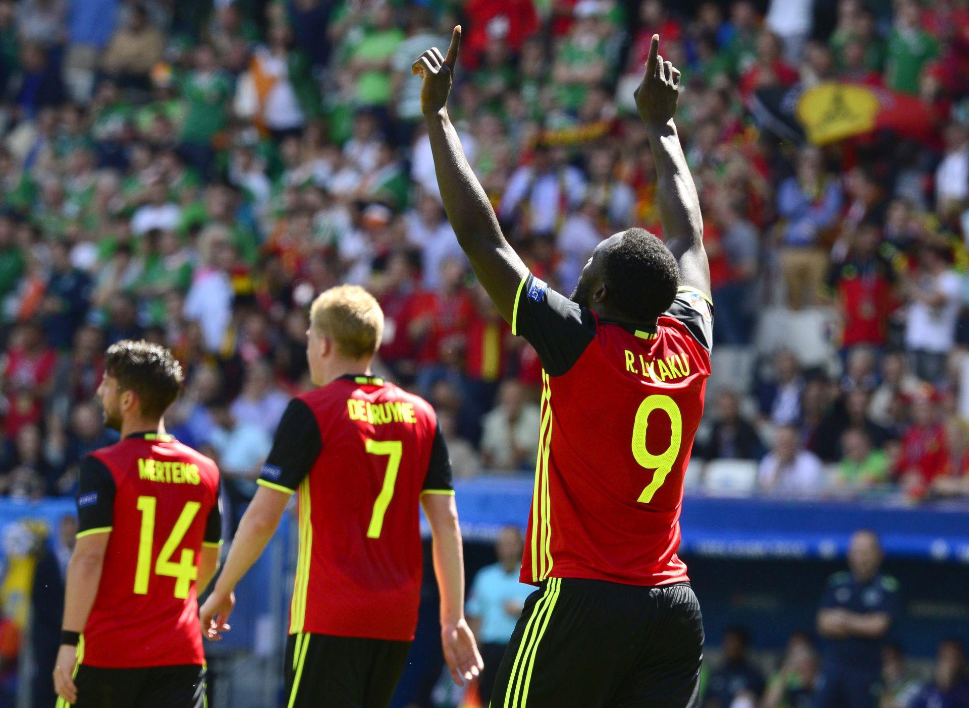 EURO 2016: Belgija- Irska 3-0