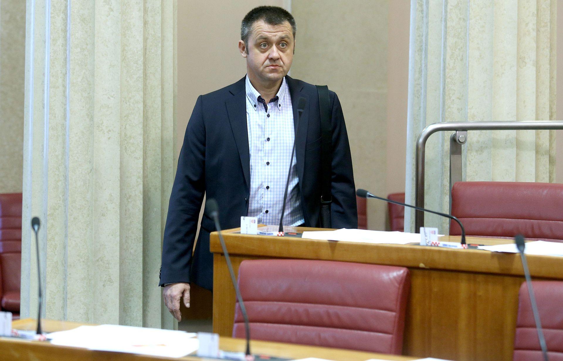Igor Dragovan: SDP očekuje da se raspuštanje Sabora uvrsti u dnevni red