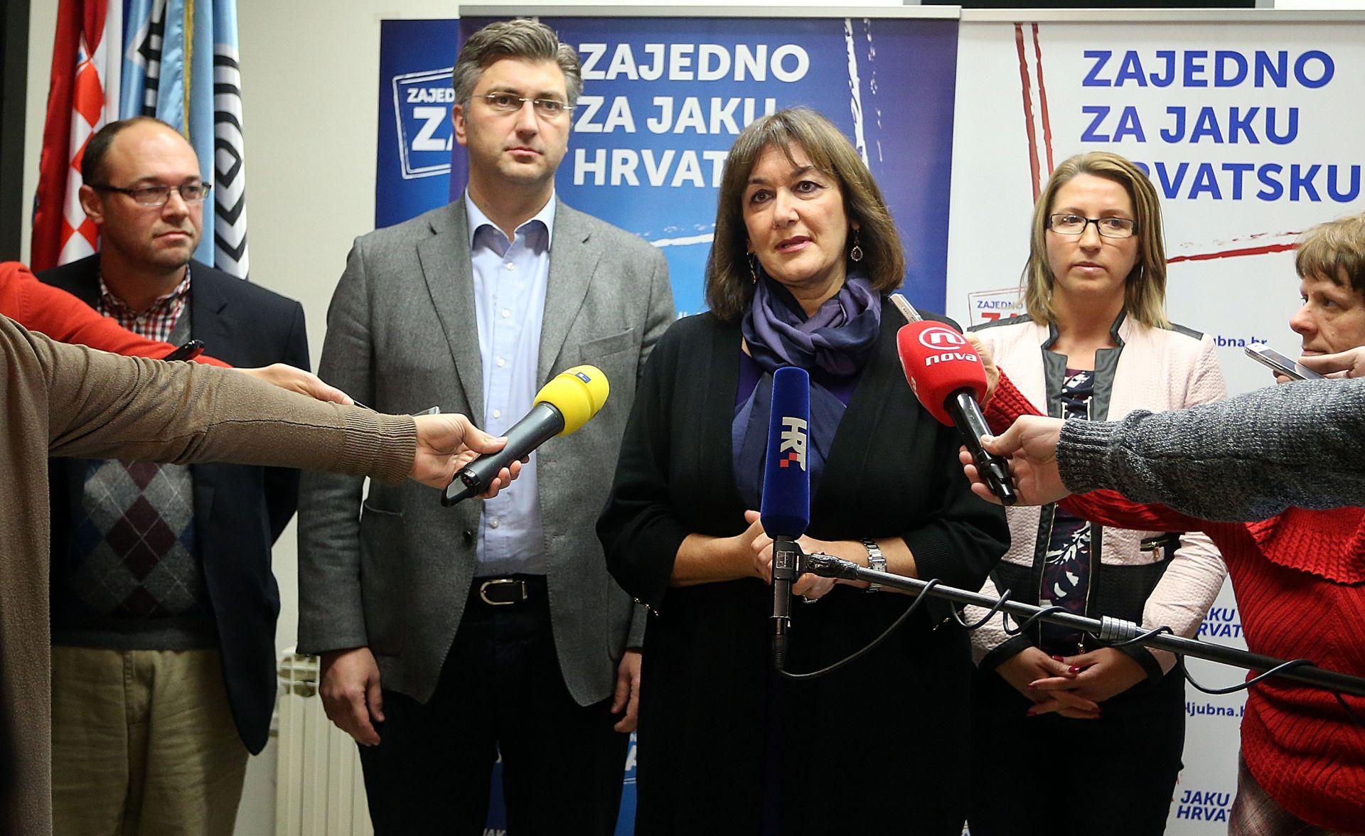 """HDZ-ovi europarlamentarci protiv Karamarka: """"Interes države je iznad interesa pojedinca"""""""