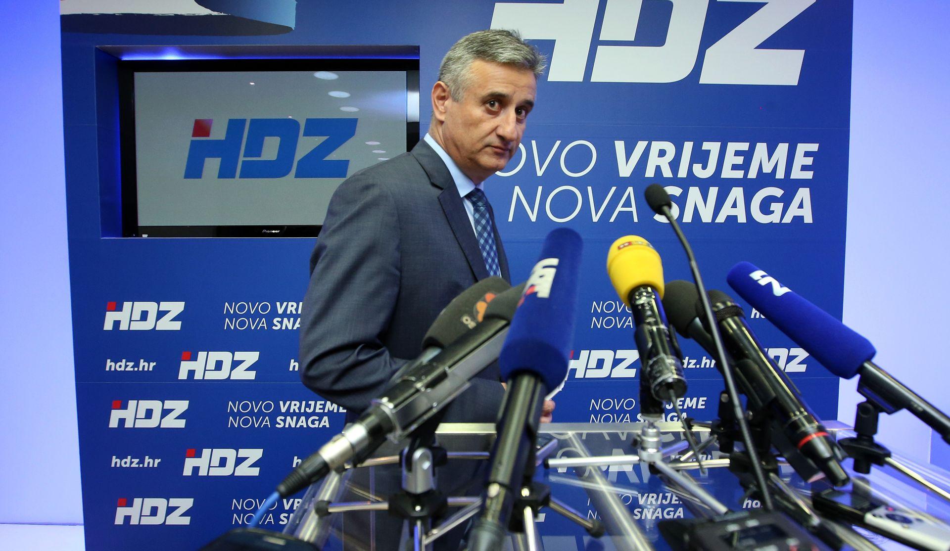 NIŠTA OD OSTAVKE: Tomislav Karamarko otkazao današnju sjednicu Predsjedništva HDZ-a